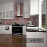 Rumah Yang Berkesan dengan Kitchen set yang Menawan
