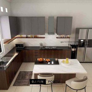 10+ Rekomendasi Kitchen Set Desain Custom ID5045P