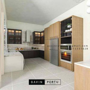 Contoh Terbaru Design Kitchen Set Custom ID4525PT
