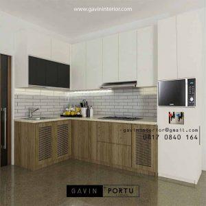 Custom Kitchen Set Dapur Kombinasi Finishing id4436PT